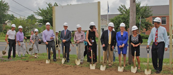 Goodwin Groundbreaking Ceremony